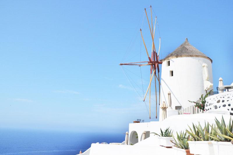 Santorini-sala_Graikija